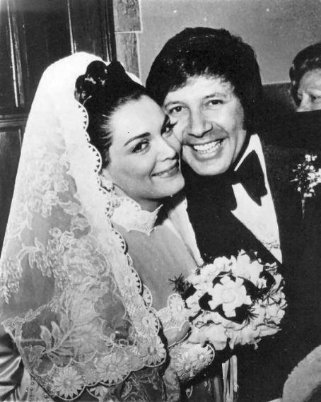 Connie Francis  and Izzy Marion wedding photo