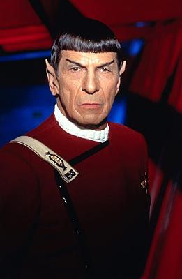 Leonard Nimoy  in Star Trek VI: The Undiscovered Country (1991)