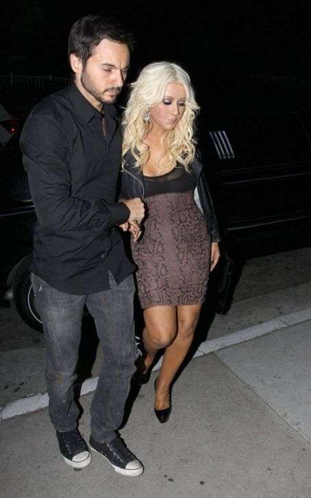 Christina Aguilera's Night on the Town with Matt Rutler
