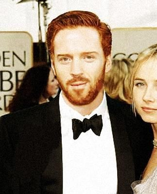 Damian Lewis  and Katie Razzall