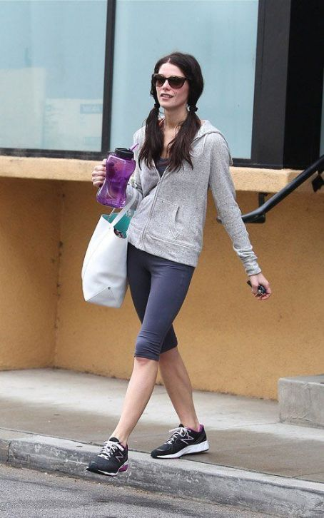 Ashley Greene's Midweek Fitness Session