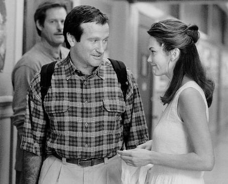Robin Williams Diane Lane and  in Jack (1996)