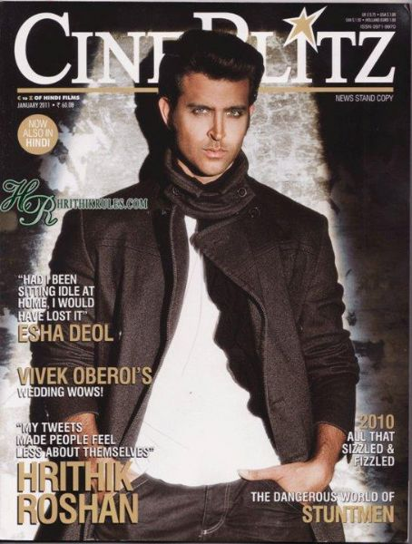 Hrithik Roshan - Cinéblitz Magazine [India] (January 2011)