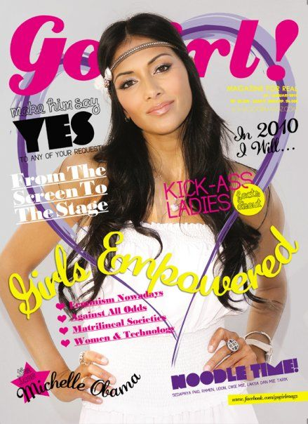 Nicole Scherzinger - Go Girl Magazine Cover [United States] (January 2010)