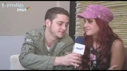Christopher Von Uckermann Dulce María and Christopher Uckermann