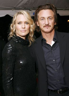 Sean Penn Robin Wright Penn and