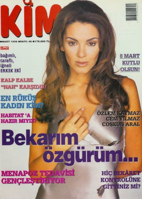 Kim Magazine Cover [Turkey] (March 1996)
