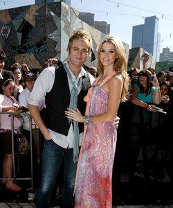 Delta Goodrem Delta & her Beau Brian...