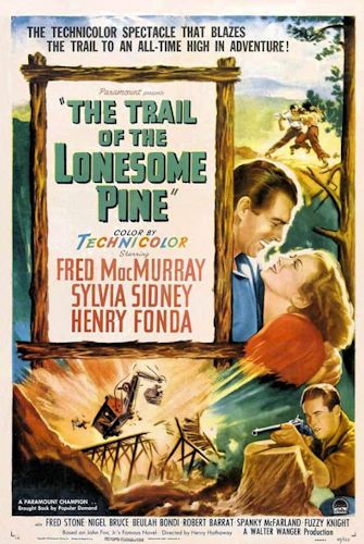 The Trail of the Lonesome Pine (1936) Poster