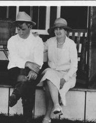 Will Rogers  and Betty Blake