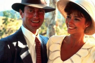 Rachel Ward Bryan Brown and  in The Thorn Birds (1983)