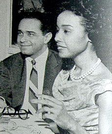 Diahann Carroll  and Monte Kay