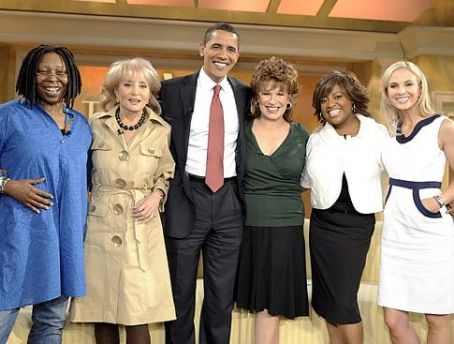 Joy Behar Obama on The View