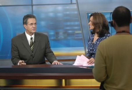 Ron Mager & Cheryl Burton at ABC Channel 7 News