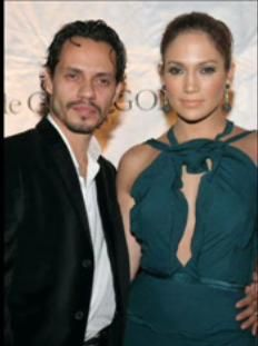 Marc Anthony Jennifer Lopez and