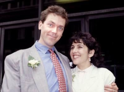 Hugh Laurie  and Jo Green