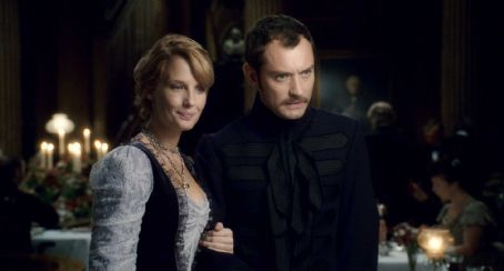 Kelly Reilly - KELLY REILLY as Mary Morstan and JUDE LAW as Dr. John Watson in Warner Bros. Pictures' and Village Roadshow Pictures' action-adventure mystery 'Sherlock Holmes,' distributed by Warner Bros. Pictures. Photo courtesy of Warner Bros. Pictures