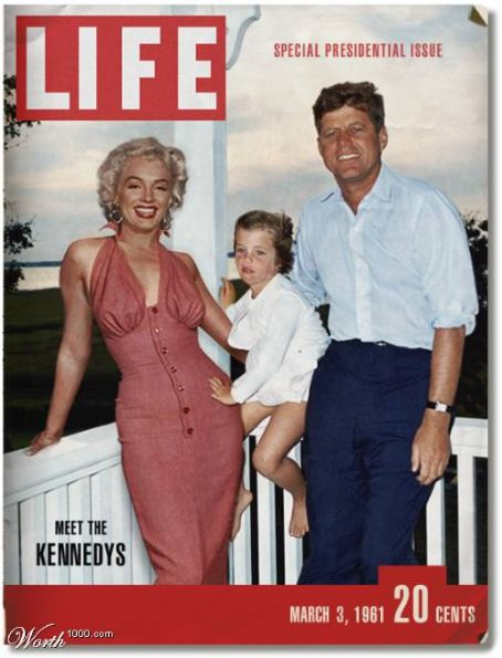 John F. Kennedy John Kennedy and Marilyn Monroe