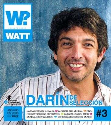 Ricardo Darín - Watt Magazine Cover [Argentina] (May 2006)