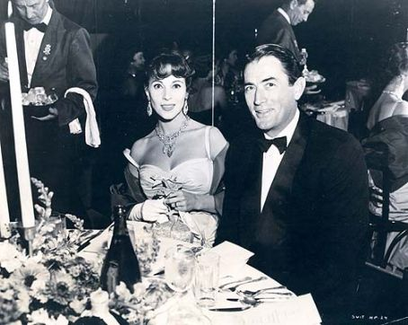 Gregory Peck  and Veronique Passani