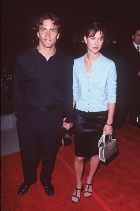 Andrew Shue  and Jennifer Hageney