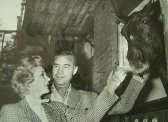 Zsa Zsa Gabor  and Porfirio Rubirosa