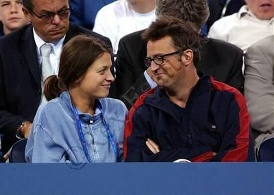 Matthew Perry  and Rachel Dunn