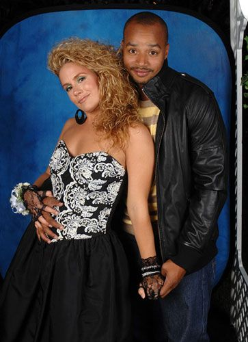Donald Faison  and Cacee Cobb