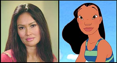 Lilo & Stitch Tia Carrere is the voice of Nani in Walt Disney's Lilo & Stitch - 2002