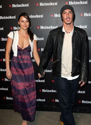 Eric Balfour  and Moon Bloodgood