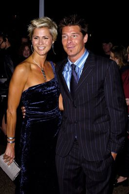 Ty Pennington  and Andrea Bock