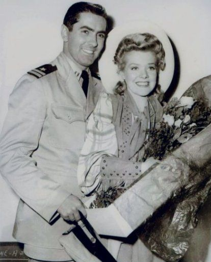 Tyrone Power  and Alice Faye