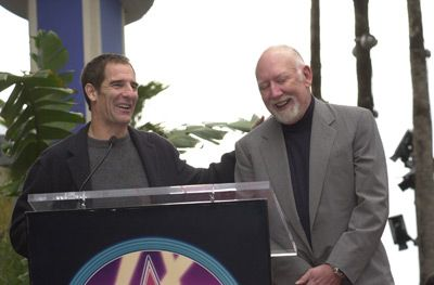 Scott Bakula  and Donald P. Bellisario