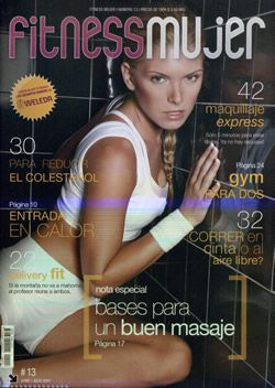 Sofia Zamolo - Fitness Magazine Cover [Argentina] (August 2007)