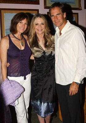 Scott Bakula  and Chelsea Field with Peggy Lipton