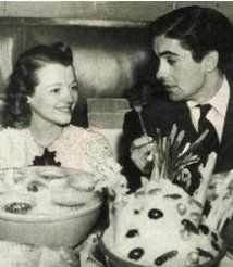Janet Gaynor  and Tyrone Power