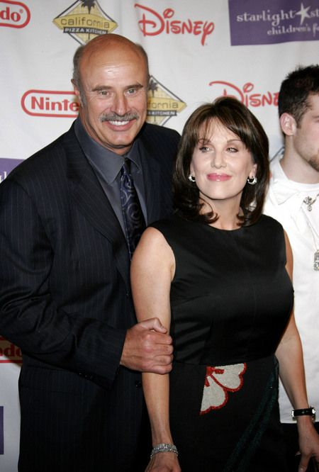 Phil McGraw Dr.  and Robin Jameson