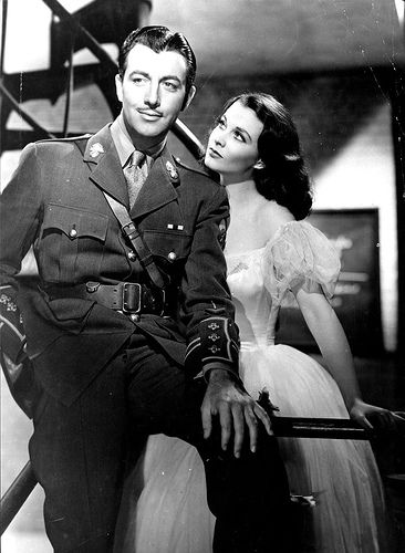 Robert Taylor Vivien Leigh and