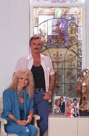 Loni Anderson Burt Reynolds and