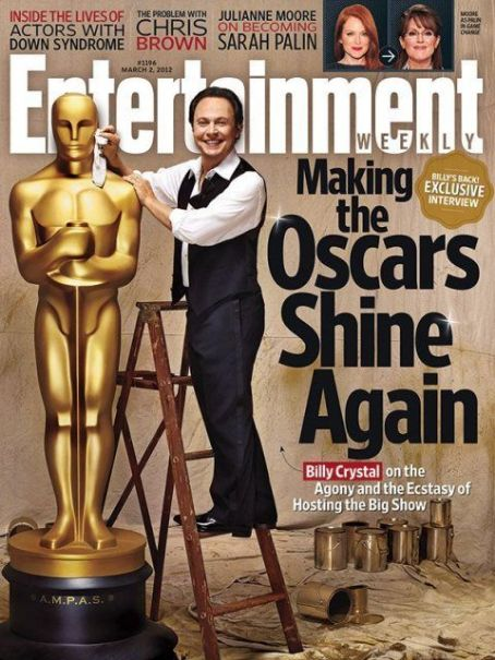 Billy Crystal - Entertaiment Weekly Magazine Cover [United States] (2 March 2012)