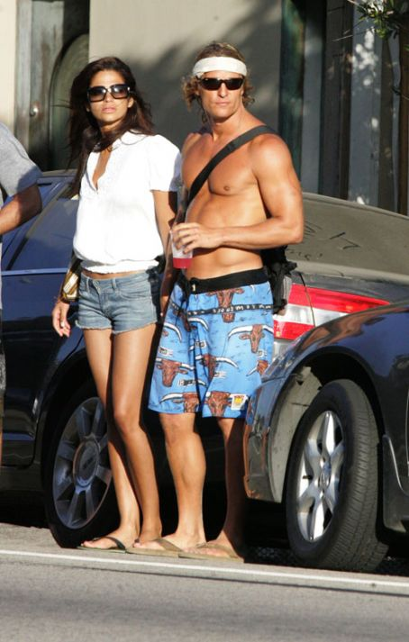 Camila Alves Matthew McConaughey and Camilla Alves