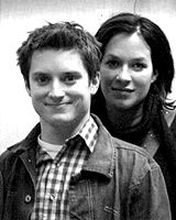 Franka Potente Elijah Wood and