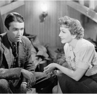 Claudette Colbert Jimmy Stewart and