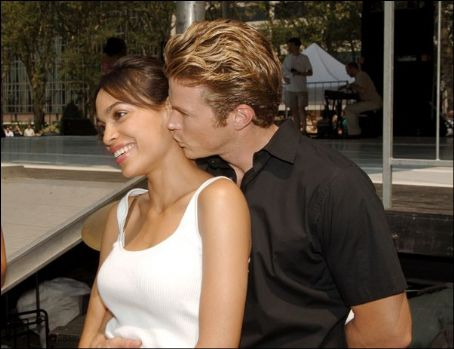 Rosario Dawson Jason Lewis and