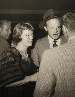 Van Heflin  and Frances E. Neal