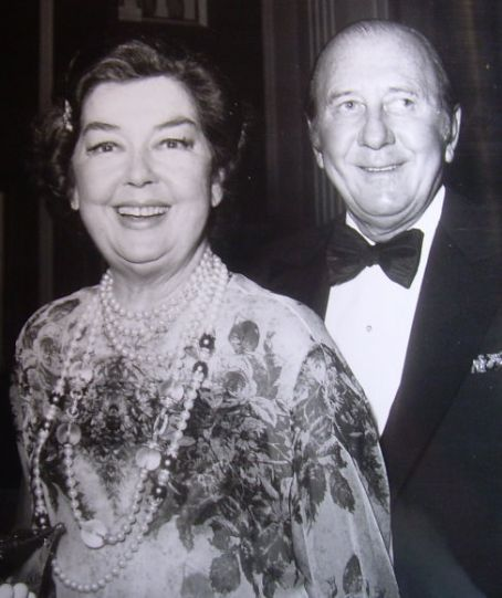 Rosalind Russell  and Frederick Brisson