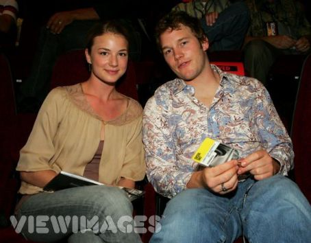 Emily VanCamp Chris Pratt and