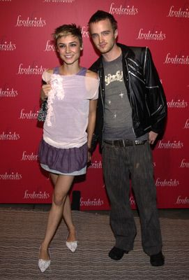 Aaron Paul  with Samaire Armstrong