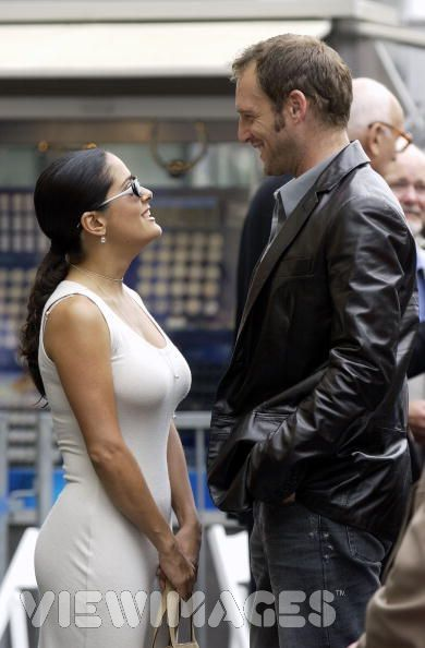 Josh Lucas  and Salma Hayek