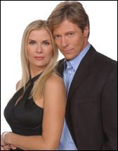 Katherine Kelly Lang  with her co-star Jack Wagner